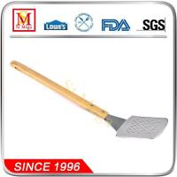 Wholesale 20.3-Inch Wooden Handle BBQ long Spatula from china suppliers