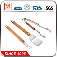 Wholesale Wooden Handle BBQ Tool set from china suppliers