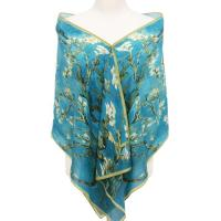 China Custom Made Personalized Digital Silk Scarves on sale
