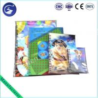 China 3D Lenticular spiral Notebook book cover on sale