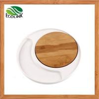 Wholesale Bamboo Food Cheese Serving Tray Entertainment Set from china suppliers