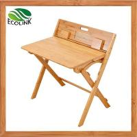 Adjustable Height Bamboo Children's Study Table and Chair