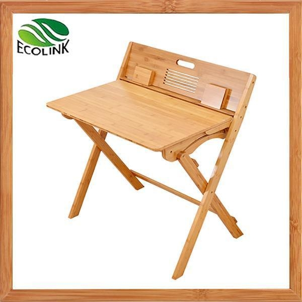 Quality Adjustable Height Bamboo Children's Study Table and Chair for sale