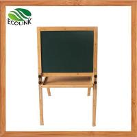 Wholesale Deluxe Natural Bamboo Wood Children's Standing Art Easel from china suppliers