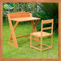 Wholesale Bamboo Wood Children Creative Art Table Desk Station Drafting Table from china suppliers