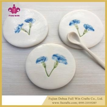 Ceramic Coaster Colorful Or Blank Table Coaster For Cup