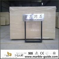 Wholesale Italian Roman Travertine Slab For Bathroom Flooring Tile Countertops With Luxury Good Quality from china suppliers