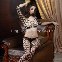 China Women's Lingerie Diamond Net Sexy Top & Tights Lingerie Set on sale