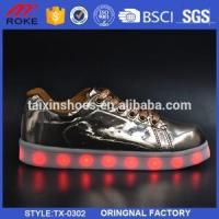 China 7 Colors USB Charging LED Lights Shinning Shoes Men Women Sneakers on sale