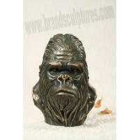 Wholesale Large Creating Fiberglass Animal Orangutan Sculpture as Home Ornament from china suppliers