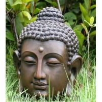 Wholesale Majestic Religious Articles Buddha Head Bronze Statue from china suppliers