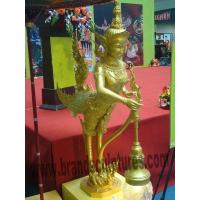 Charming and Modern Bronze Thai Buddha Fairy Statues