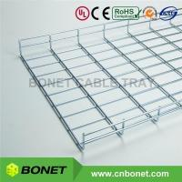 Wholesale 450x50 55mm Deep Electro Galvanizing Wire Basket Cable Tray Systems from china suppliers