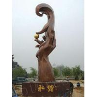 Wholesale Outer Large Varnished and Hand Brass Sculptures from china suppliers