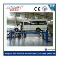 Wholesale china 10t Heavy Duty Four Post Hydraulic Car Truck Hoist Lift from china suppliers