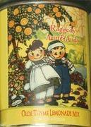 Wholesale Raggedy Ann & Andy Olde Thyme Lemonade Mix Tin - Raggedy Land Exclusive from china suppliers
