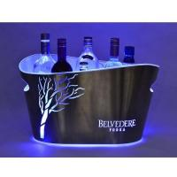 Wholesale Ice Bucket Jixi design double walled ice bucket with led lighting wholesale from china suppliers