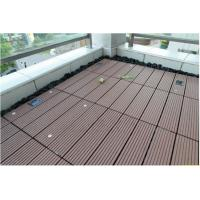 Wholesale CR-1079 Waterproof WPC Deck Tiles For Bathroom And Sunroom from china suppliers