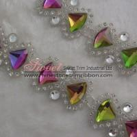 Wholesale Plastic rhinestone band trim wholesale from china suppliers