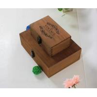 Wholesale Vintage style wooden box wooden storage box wholesale wooden box from china suppliers