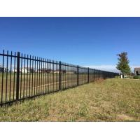 Wholesale ornamental aluminum fence 16944366 for Easy fence installation