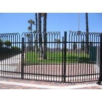 Wholesale Ornamental Outdoor Entrance Metal Yard Fence Gates from china suppliers