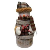 Wholesale Gift Baskets Canadian Snowman from china suppliers