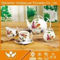 Wholesale promotional product porcelain tea pot Dinner set from china suppliers