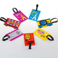 Wholesale OEM Cartoon Silicon Luggage Tag from china suppliers