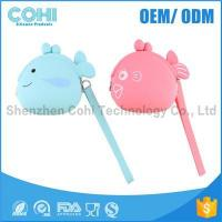 Wholesale Promotion fish shaped cheap silicone kids coin purse from china suppliers