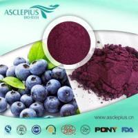 Wholesale Bilberry Fruit Extract Powder 25% Anthocyanin Pigment HPLC,UV Supplier Wholesale from china suppliers