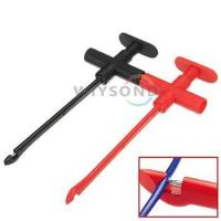 Wholesale M056 Insulation Piercing Clip Test Probe Hook Banana Jack Spring Loaded Cop from china suppliers