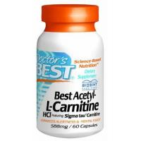 China Doctor's Best Best Acetyl L-carnitine Featuring Sigma Tau Carnitine (588 Mg), Capsules, 60-Count on sale