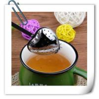 China Eco-friendly Stainless Steel Heart Type Stainless Steel Tea Infuser on sale
