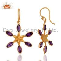 Wholesale Sterling Silver Amethyst Earrings from china suppliers