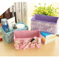 Wholesale color printed storage organizer storage box from china suppliers