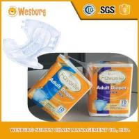 Wholesale Soft and absorbent printed free samples grade a adult diaper from china suppliers