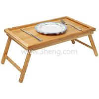 Wholesale Luxurious Breakfast in Bed Bamboo Lap Tray/ Kids Floor Table With Folding Legs from china suppliers