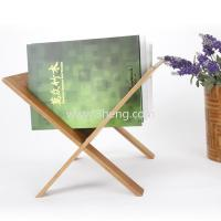 Wholesale Natural Xstyle book magazine bamboo book rack bamboo file holder bool storage holder eco-friendly from china suppliers
