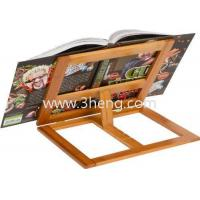 Wholesale All Natural Bamboo Cookbook Holder With 4 Adjustment Settings from china suppliers