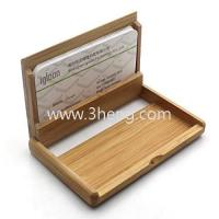 Wholesale Bamboo Card Holder With Chinese Characteristics Business Card Holder from china suppliers