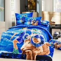 Wholesale Aries Oil Painting Style Zodiac Signs Bedding Set from china suppliers