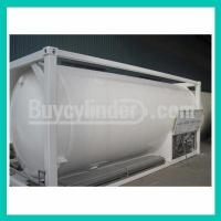 Wholesale Natural Gas LOX/LIN/LAr 20FT ISO TANK CONTAINER 20M3-16Bar-D from china suppliers