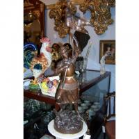 """Wholesale Sculpture """"JEANNE D""""ARC"""". BRONZE BY GIRAUD H 3642 from china suppliers"""