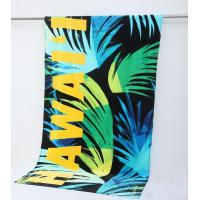 China 100% cotton car pattern reactive printed velour beach towel Round Towel on sale