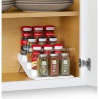 Wholesale White SpiceSteps 4-Tier Cabinet Spice Rack Organizer from china suppliers