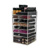 Wholesale Acrylic 7 Drawers Organizer Cube Storage Box from china suppliers