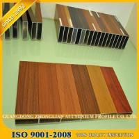 Wood Grain Aluminium Extrusion Profile for Furnitures Decoration