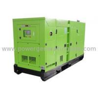 Buy cheap Three Phase Soundproof 10 - 200kva Water Cooled Diesel Generator Mute Type from wholesalers