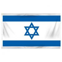 Wholesale Israel 3ft X 5ft Printed Polyester Flag from china suppliers